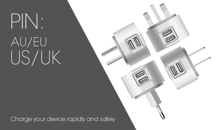 au eu us uk pins cell phone chargers manufacturer