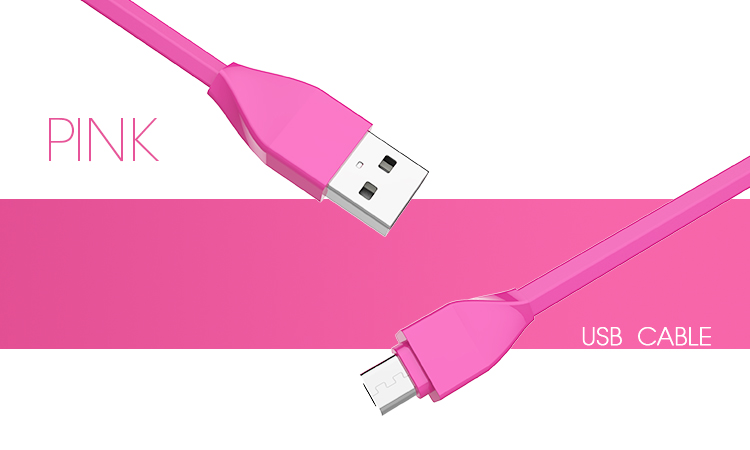 Veaqee datamicro usb cable colorful micro usb TPE +PC data cable usb data cable(VQUC-1659)