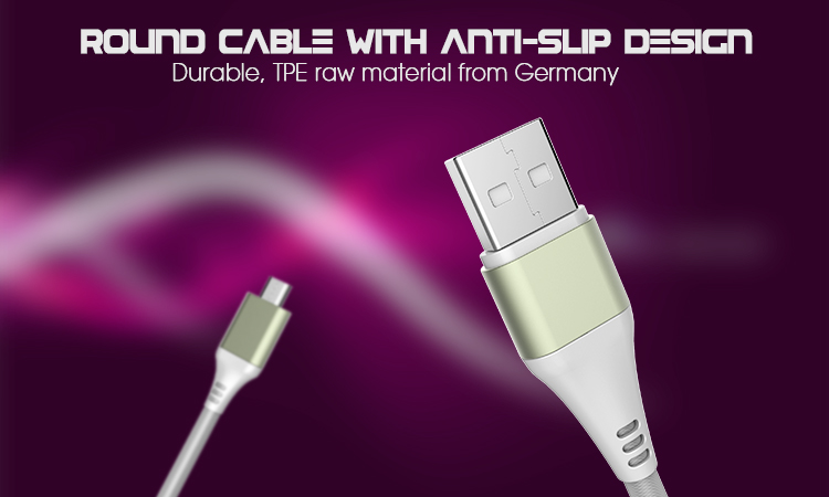 Veaqee Usb 2.0 Mfi Data Cable For Iphone 7 Type-C Micro Data Cable For Andriod(VQUC-1676)