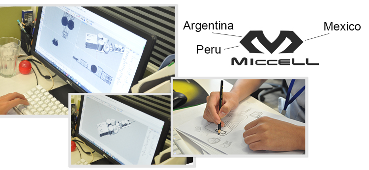 Attention should be paid to product design, exhibition, brand promotion, a number of agents; and in Mexico, Argentina, Peru successfully registered Micell brand
