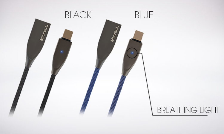 fast usb data cable with led light