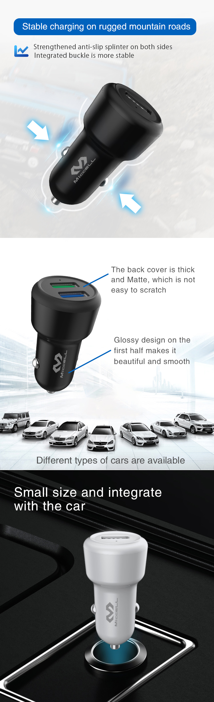 Single port 2.1A mobile phone usb car charger (2).jpg