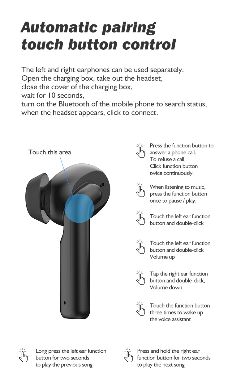 Wholesale price bluetooth wireless earbuds for iphone 12 (2).jpg