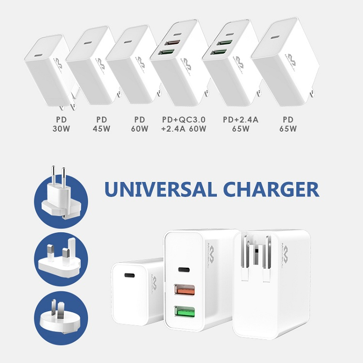 Veaqee PD 60W 3 port usb charger Quick Charge 3.0 T200.jpg