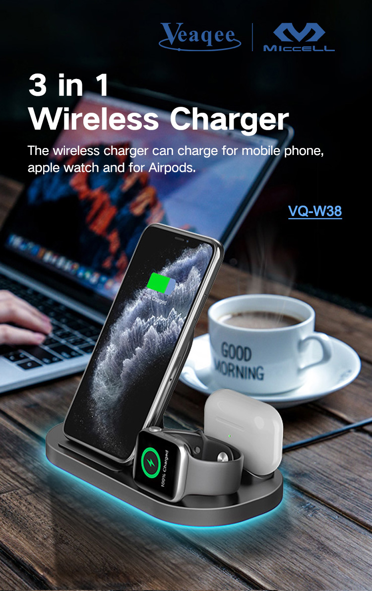 Wholesale wireless charger stand 3 in 1 15w fast charging for iphone (1).jpg