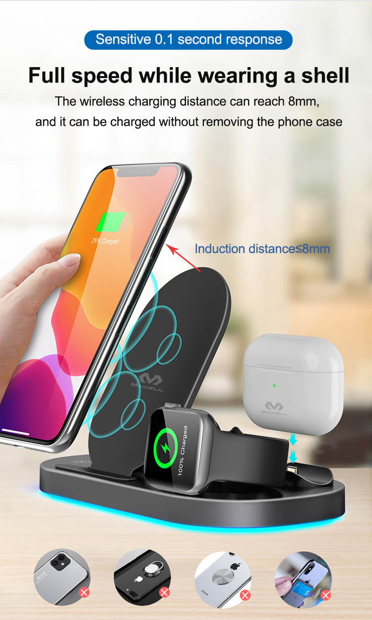 Wholesale wireless charger stand 3 in 1 15w fast charging for iphone (5).jpg