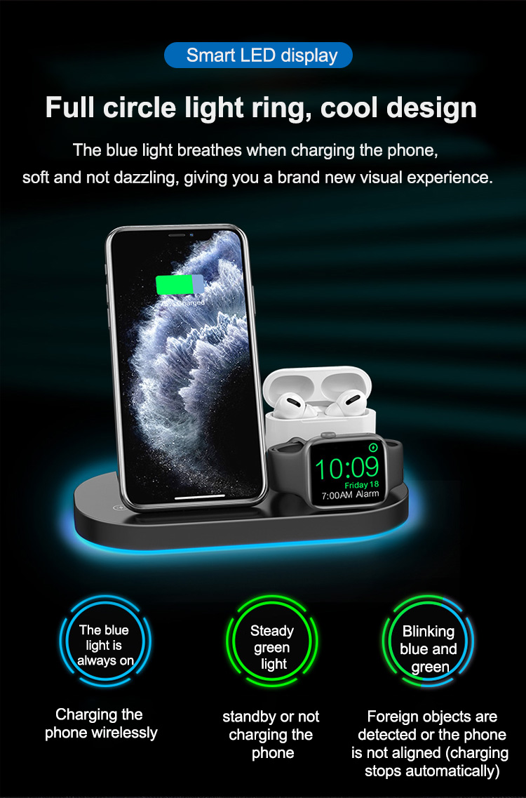 Wholesale wireless charger stand 3 in 1 15w fast charging for iphone (6).jpg