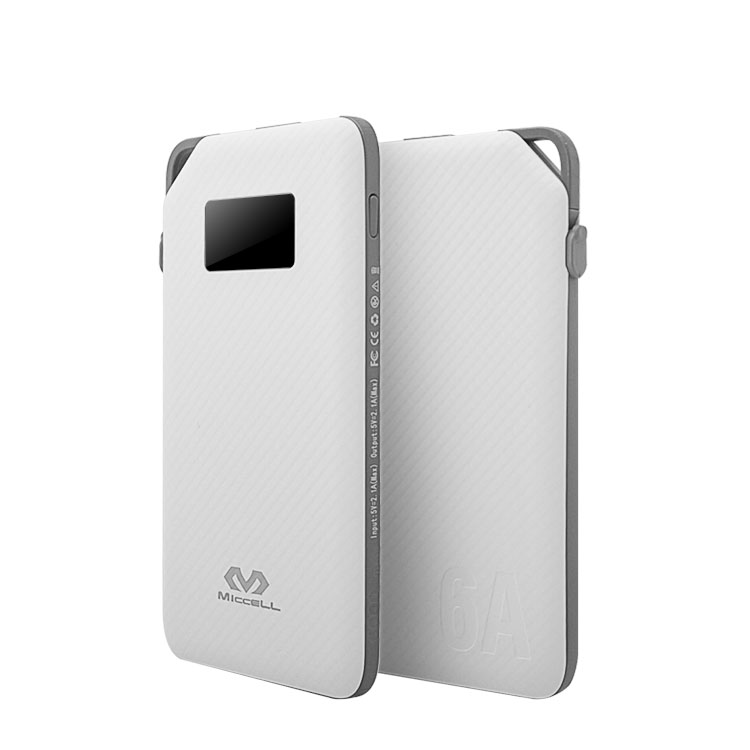 Veaqee Portable 6000mah micro 2.1A power bank P02