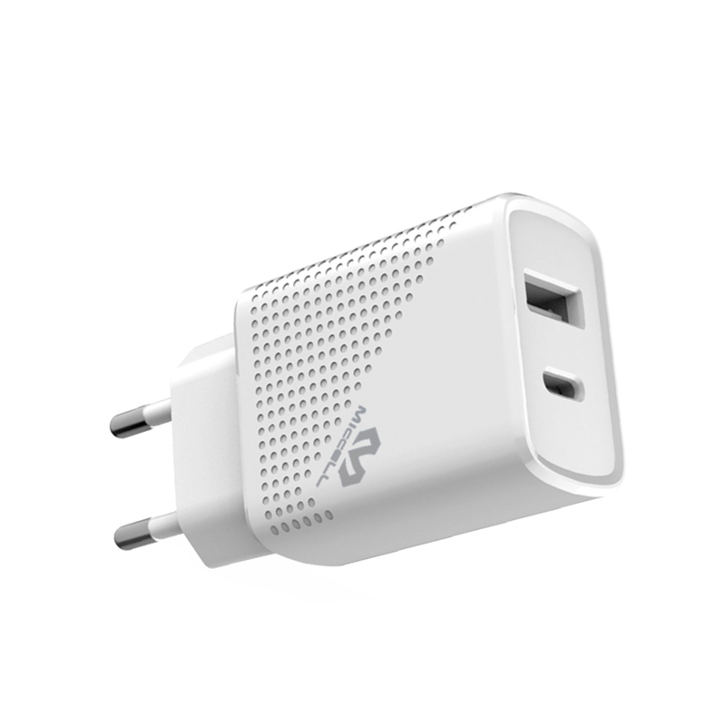 Veaqee PD 18W dual port usb c charger EU T27