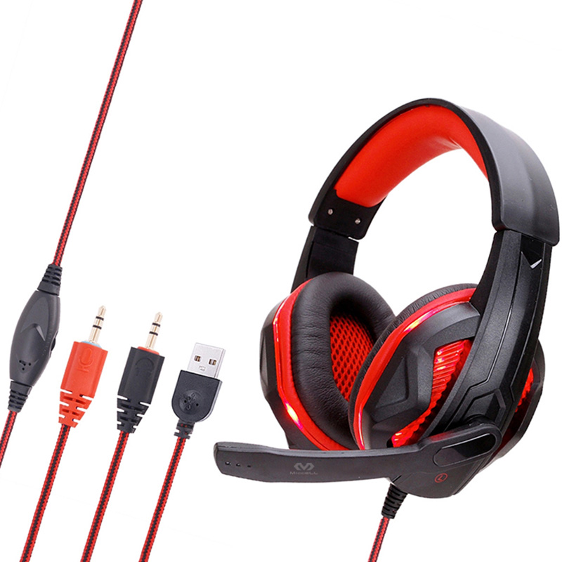 Wholesale best studio usb headphones for gaming and music