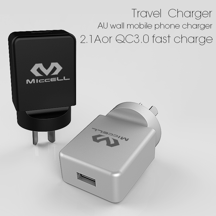 Veaqee New Design freestyle USB travel Charger EU home cellp hone charger wall mobile cell phone charger supplier