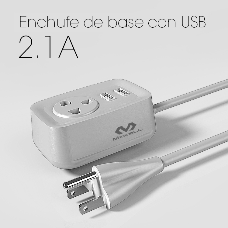 Veaqee adaptador de viaje de la PC con el usb US / UK / UE universal Extensión Socket Power Strip con interruptor 1.2M Cable US Plug Sockets Adaptador para Android IOS (VQCT-1643)