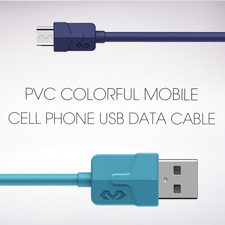 Veaqee manufacturer Miccell brand PVC colorful mobile cell phone usb data cable wire for iphone 7 8 x(VQ-D02)