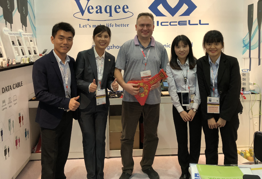 VEAQEE IN HONGKONG GLOBAL SOURCES FAIR