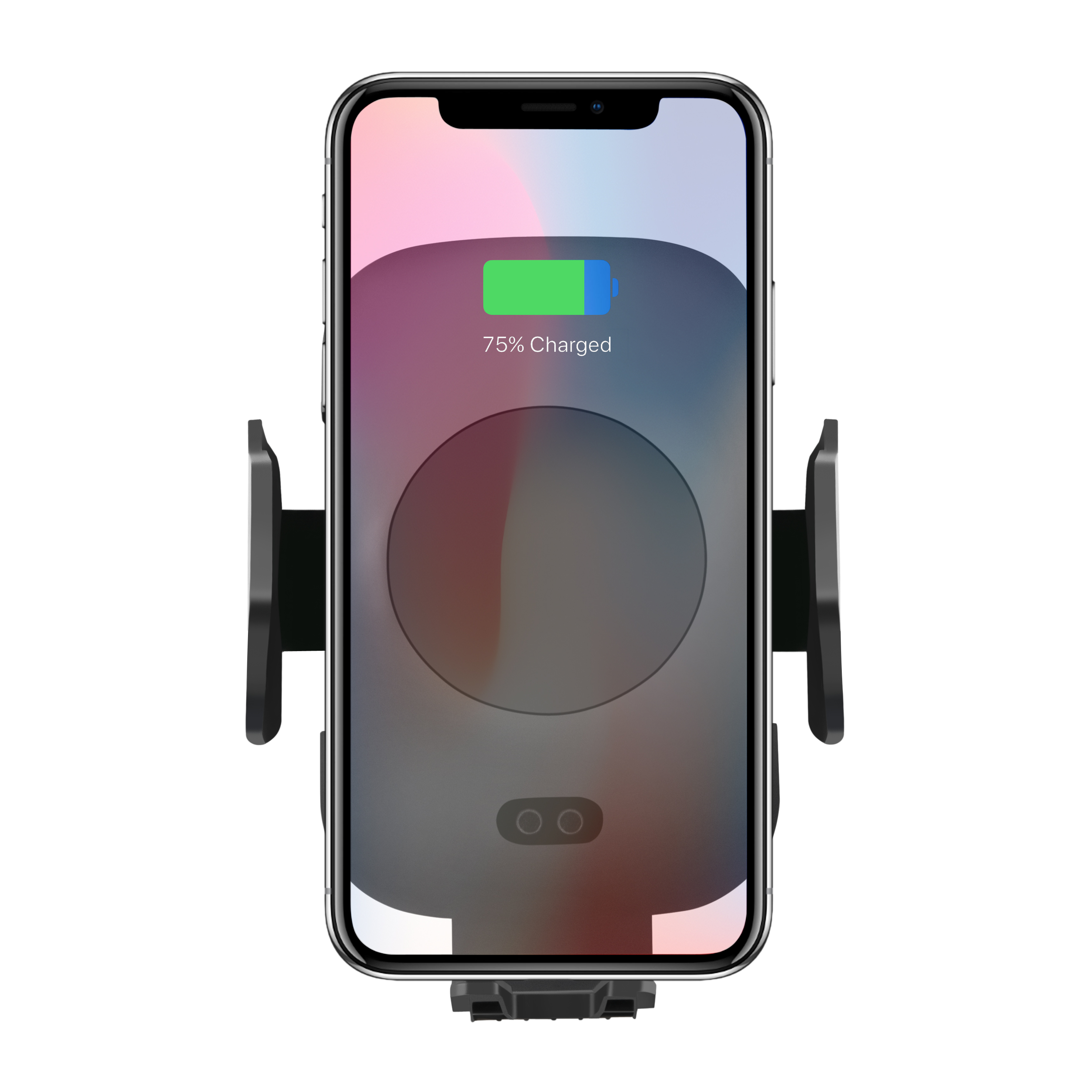 Veaqee Manufacturer Miccell Brand Fast QI Wireless Car Mount Charger (VQ-W17)