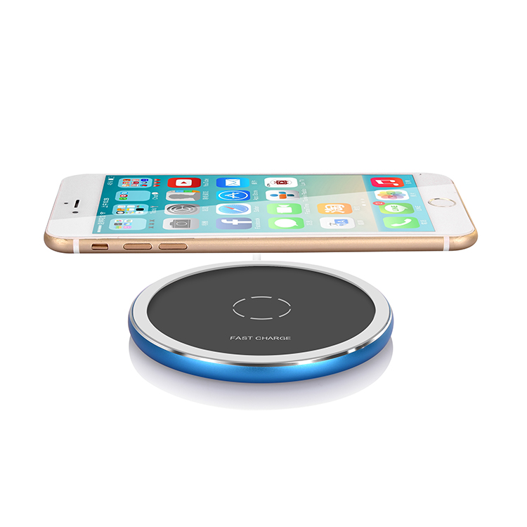 Veaqee Manufacturer Miccell Brand Fast QI Wireless Charger Pad (VQ-W18)