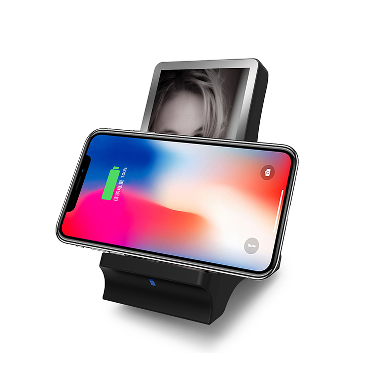 Veaqee Manufacturer Miccell Brand Fast QI Wireless Charger Stand(VQ-W19)